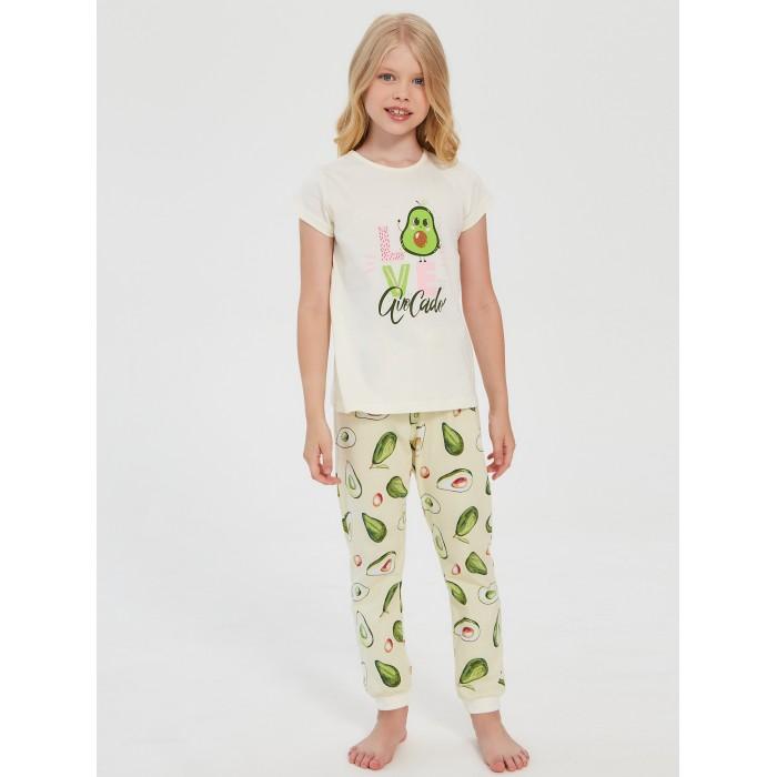 Фото - Домашняя одежда Веселый малыш Пижама для девочки Авокадо 311170 домашняя одежда веселый малыш пижама для девочки терьер