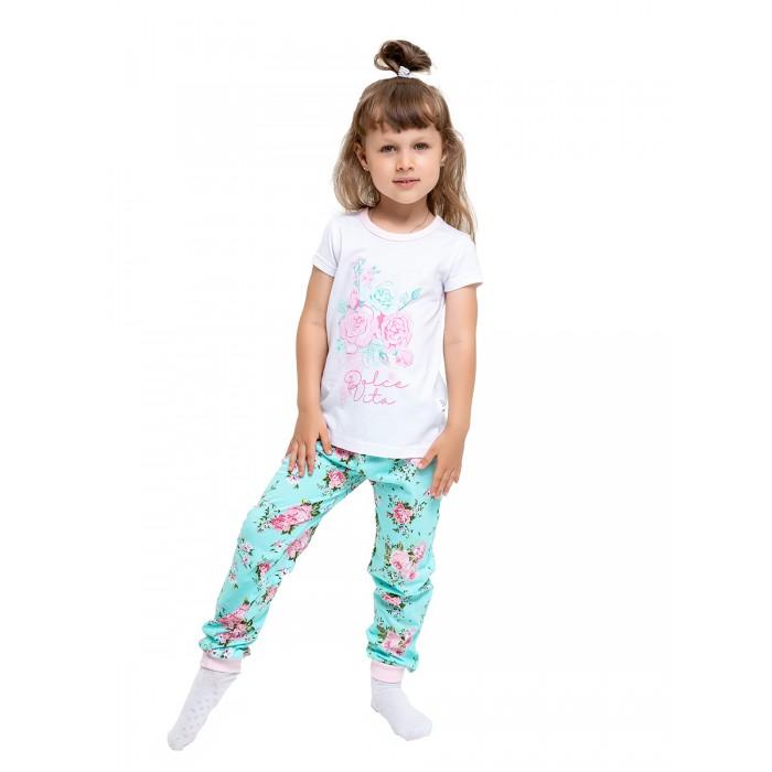 Домашняя одежда Веселый малыш Пижама для девочки Dolce vita 302170