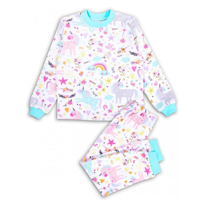 Купить Домашняя одежда, Веселый малыш Пижама для девочки Единорожка