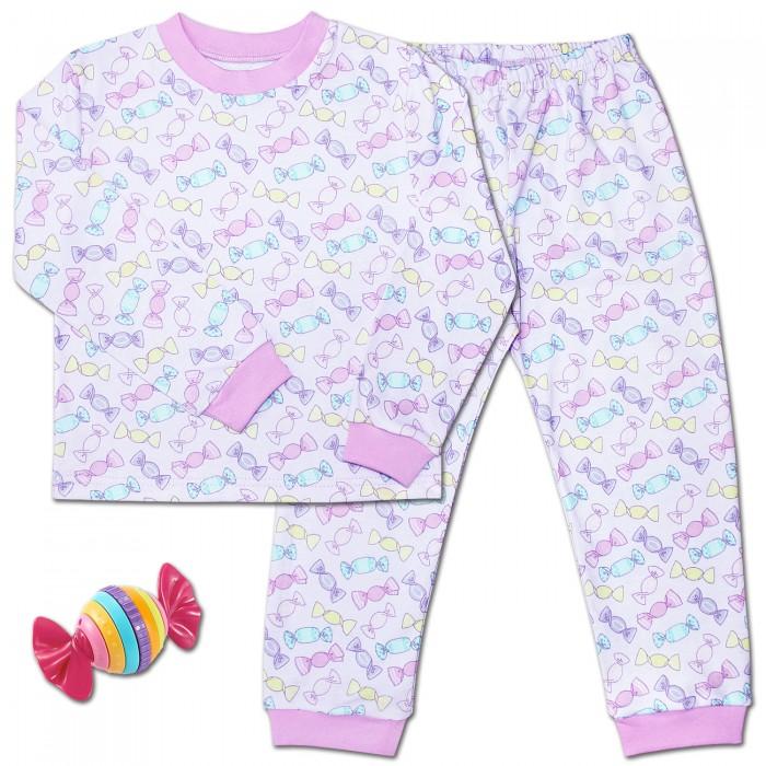 Пижамы и ночные сорочки Веселый малыш Пижама для девочки Конфетти веселый малыш пижама для девочки веселый малыш