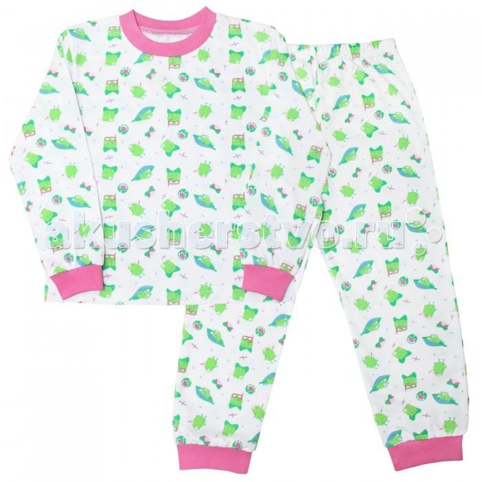 Пижамы и ночные сорочки Веселый малыш Пижама для девочки Лягушки веселый малыш пижама для девочки веселый малыш
