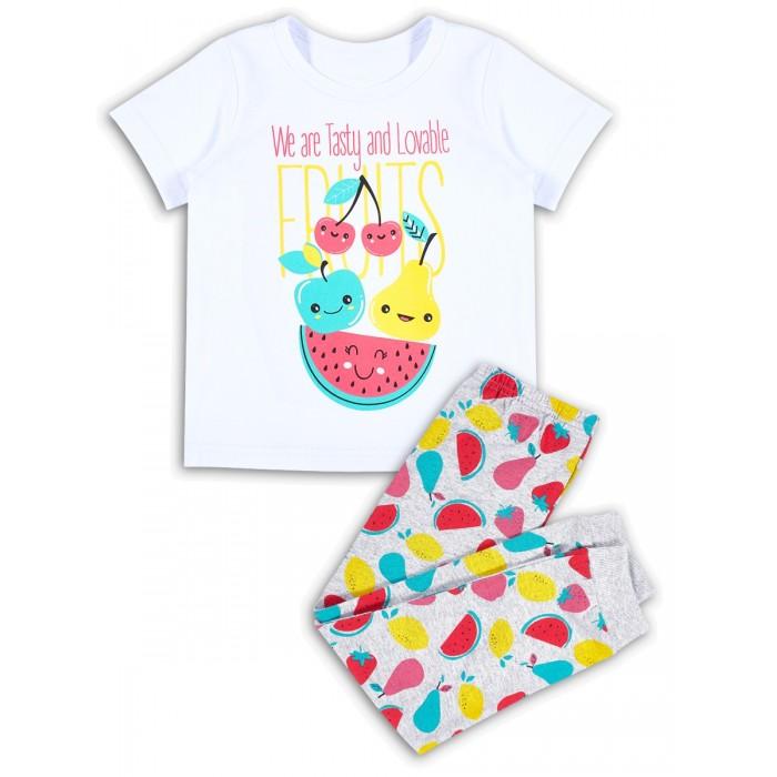 Домашняя одежда Веселый малыш Пижама для девочки Смузи
