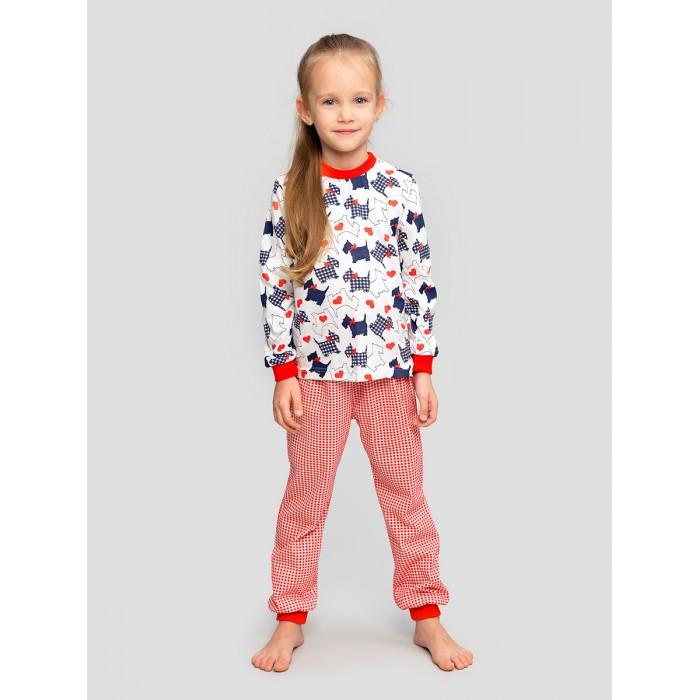 Домашняя одежда Веселый малыш Пижама для девочки Терьер