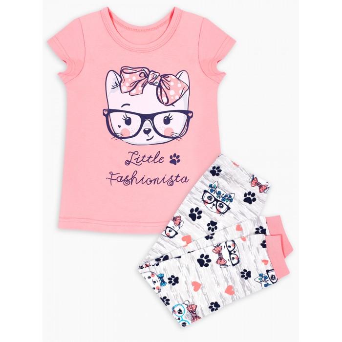 Домашняя одежда Веселый малыш Пижама для девочки Умница 301170