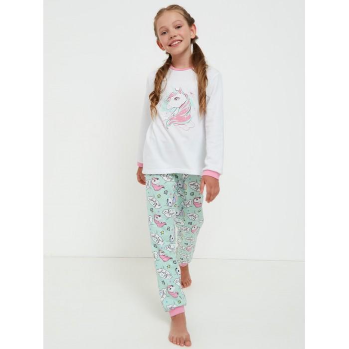 Фото - Домашняя одежда Веселый малыш Пижама для девочки Unicorn домашняя одежда веселый малыш пижама для девочки терьер