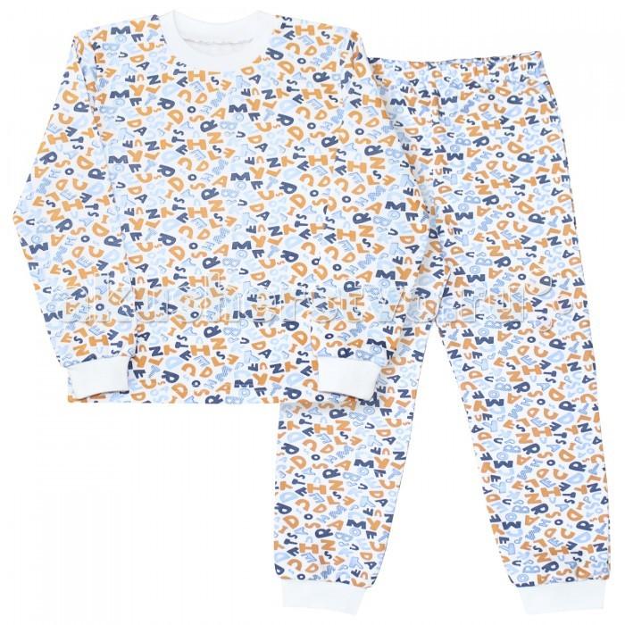 Пижамы и ночные сорочки Веселый малыш Пижама для мальчика Алфавит детская одежда