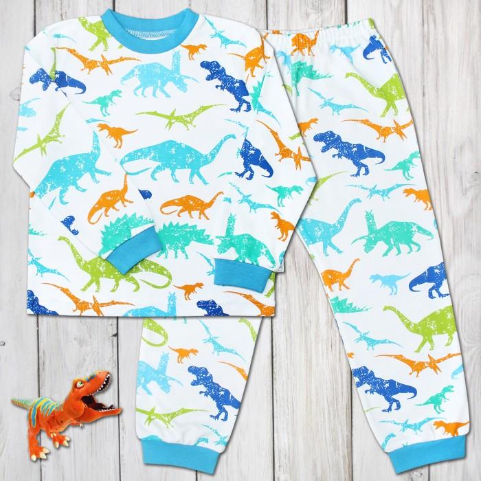 Пижамы и ночные сорочки Веселый малыш Пижама для мальчика Динопарк веселый малыш пижама для мальчика веселый малыш