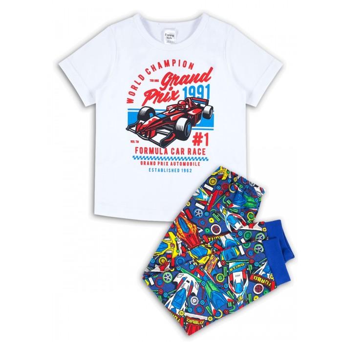 Домашняя одежда Веселый малыш Пижама для мальчика Формула 1