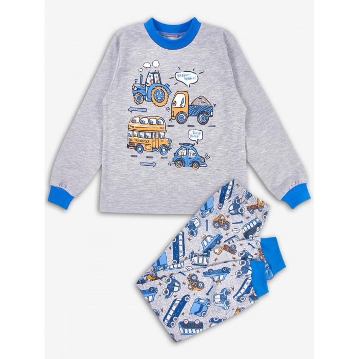 Фото - Домашняя одежда Веселый малыш Пижама для мальчика (Лонгслив и штанишки) Автолюбитель домашняя одежда веселый малыш пижама для девочки терьер