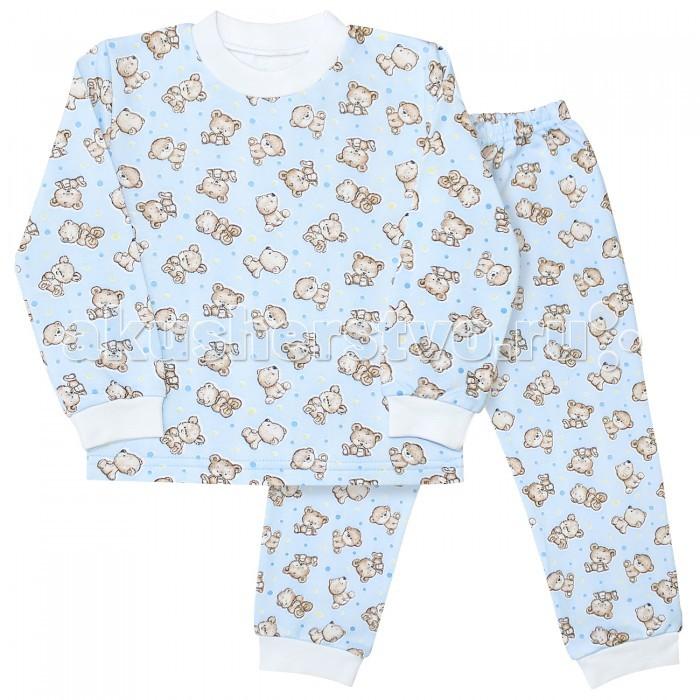 Пижамы и ночные сорочки Веселый малыш Пижама Мишутка пижамы и ночные сорочки веселый малыш пижама мятный зайка 623332