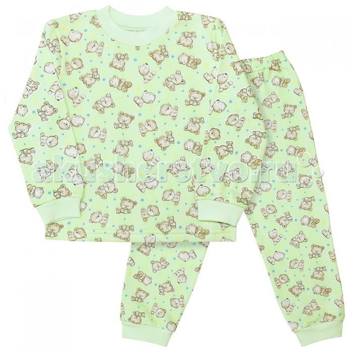 Пижамы и ночные сорочки Веселый малыш Пижама Мишутка