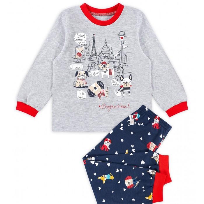 Фото - Домашняя одежда Веселый малыш Пижама Осенний променад домашняя одежда веселый малыш пижама для девочки терьер