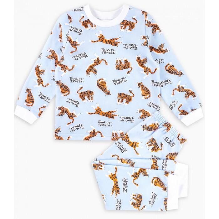 Картинка для Веселый малыш Пижама Полосатый рейс
