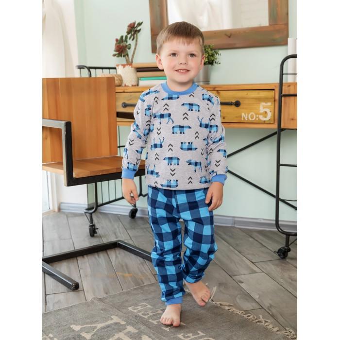 Домашняя одежда Веселый малыш Пижама Северное сияние детская одежда