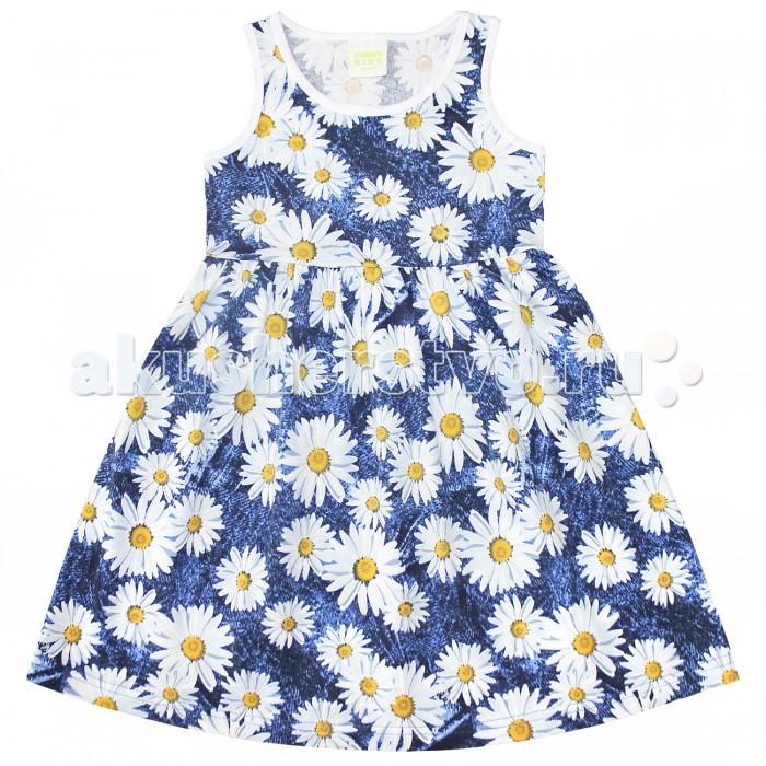 Детские платья и сарафаны Веселый малыш Платье для девочки Дана Ромашки веселый малыш футболка для девочки веселый малыш