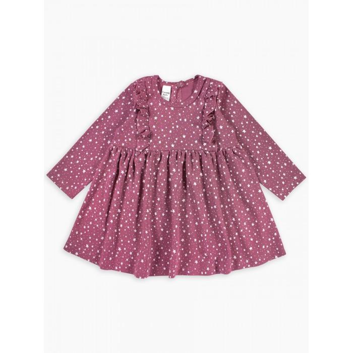 Платья и сарафаны Веселый малыш Платье с длинным рукавом Звезды