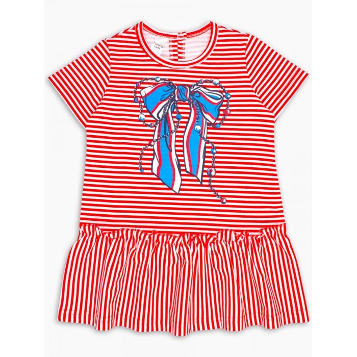 Платья и сарафаны Веселый малыш Платье с оборкой Габриэль платье футляр с оборкой из сетки red valentino