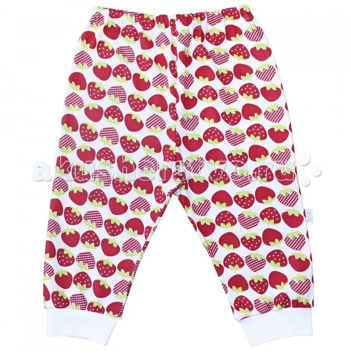 Брюки, джинсы и штанишки Веселый малыш Штанишки для девочки Клубничка 33170/one/ брюки джинсы и штанишки веселый малыш штанишки для девочки розочки синие