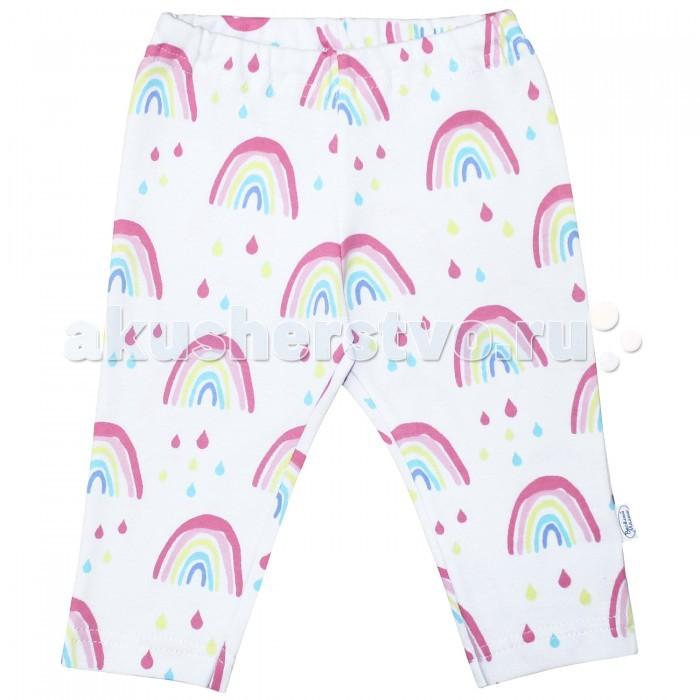 Брюки, джинсы и штанишки Веселый малыш Штанишки для девочки Радужная пони