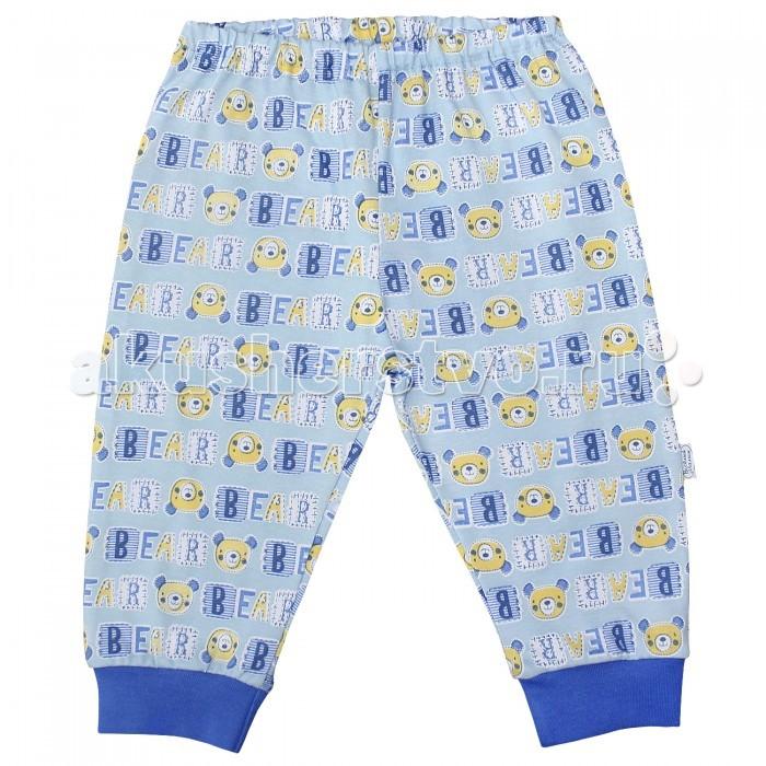 Брюки, джинсы и штанишки Веселый малыш Штанишки для мальчика Медведь 33170/one/ брюки джинсы и штанишки веселый малыш штанишки для девочки розочки синие