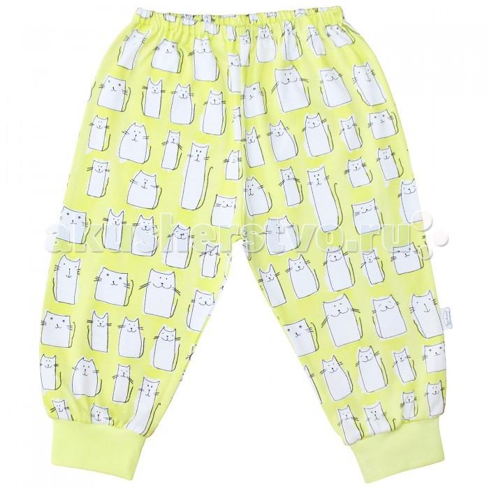 Брюки, джинсы и штанишки Веселый малыш Штанишки Коты 33170