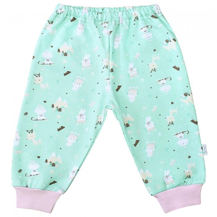 Брюки, джинсы и штанишки Веселый малыш Штанишки Олени 33140 детская одежда