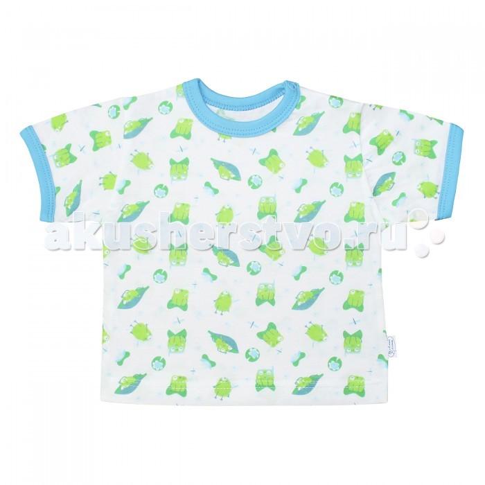 Футболки и топы Веселый малыш Футболка Лягушонок футболки и топы веселый малыш футболка вишенки 69172