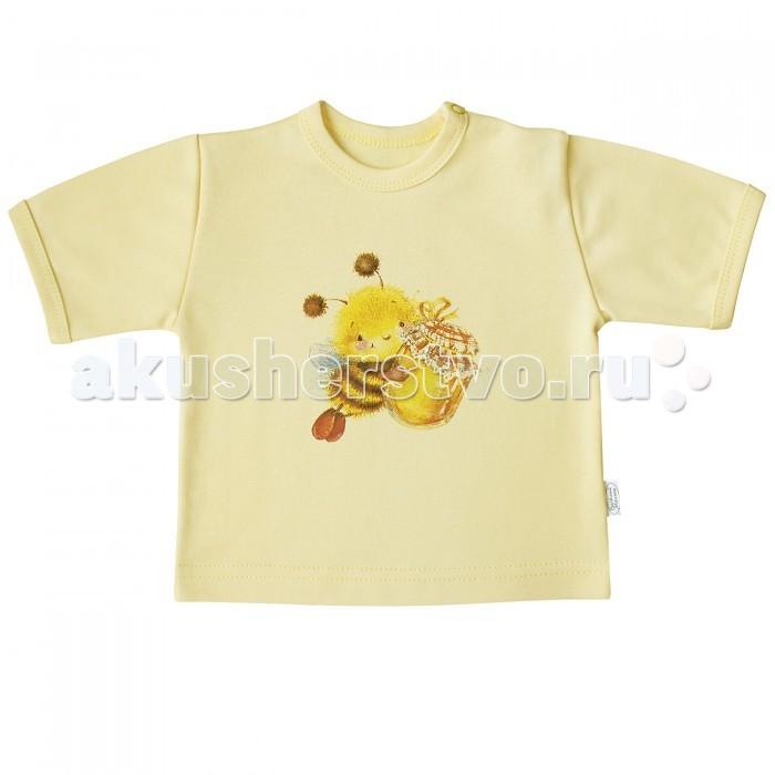 Футболки и топы Веселый малыш Футболка Пчелка 67322 детская одежда