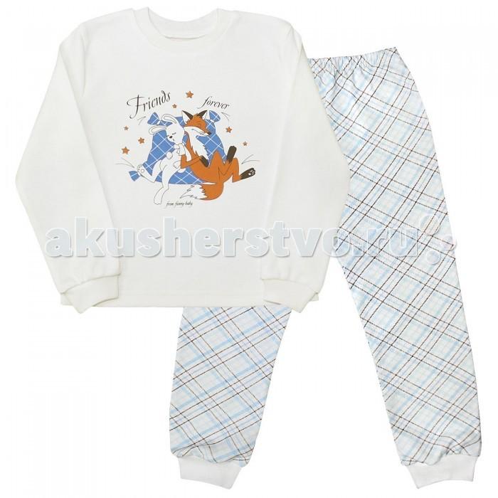 Пижамы и ночные сорочки Веселый малыш Пижама Друзья 230320 пижамы и ночные сорочки веселый малыш пижама мятный зайка 623332
