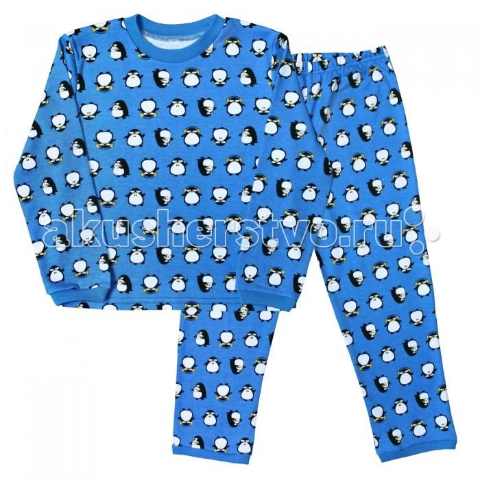 Пижамы и ночные сорочки Веселый малыш Пижама Пингвины 9315 пижамы и ночные сорочки веселый малыш пижама мятный зайка 623332