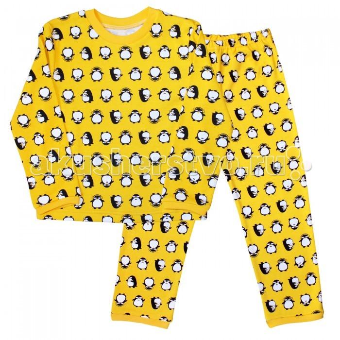 цена Пижамы и ночные сорочки Веселый малыш Пижама Пингвины 9315 онлайн в 2017 году