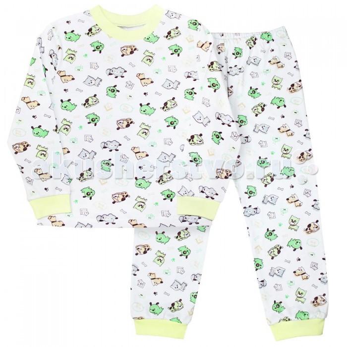 Пижамы и ночные сорочки Веселый малыш Пижама Собачки 9317 детская одежда