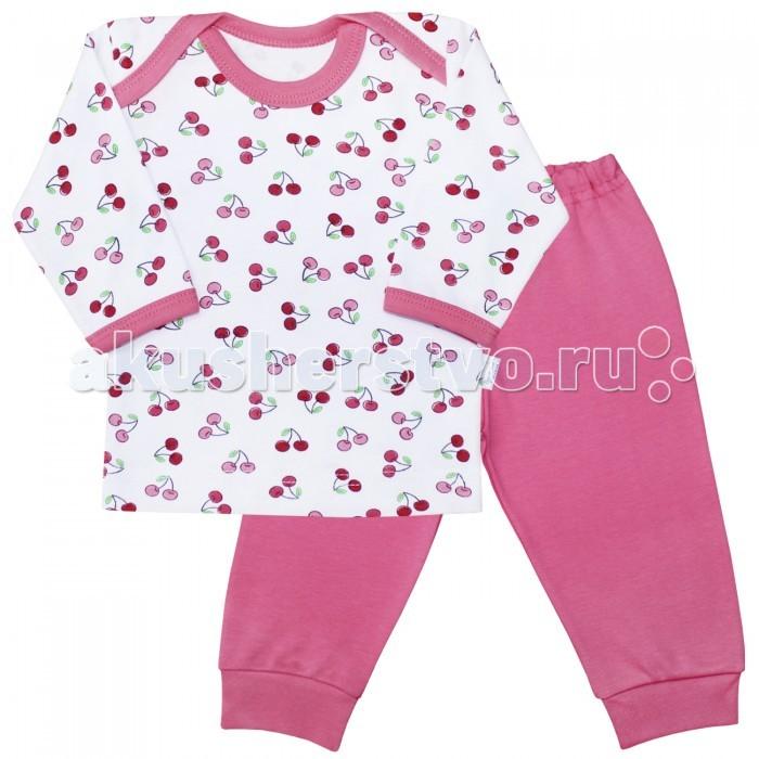 Пижамы и ночные сорочки Веселый малыш Пижама Спелая вишня 623332 пижамы и ночные сорочки веселый малыш пижама мятный зайка 623332