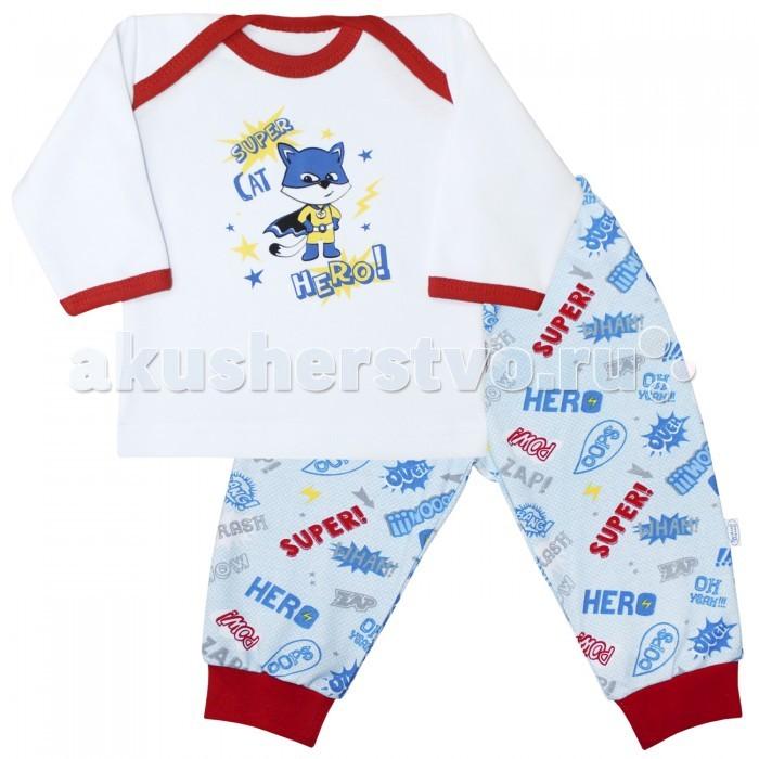 Пижамы и ночные сорочки Веселый малыш Пижама Супергерой 623332 пижамы и ночные сорочки веселый малыш пижама друзья 230320