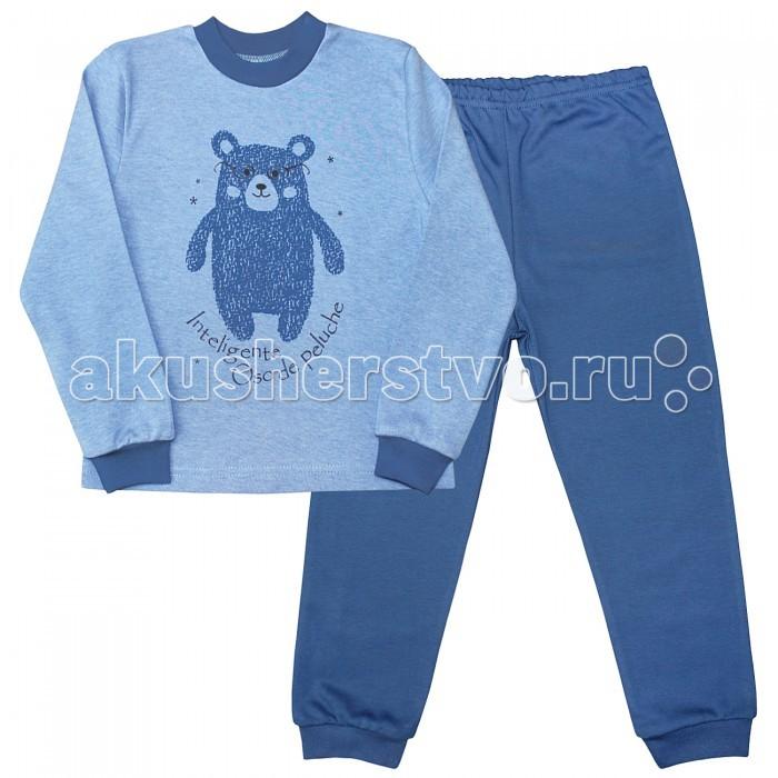 Пижамы и ночные сорочки Веселый малыш Пижама Умный мишка 236130 пижамы и ночные сорочки веселый малыш пижама умный мишка 623332