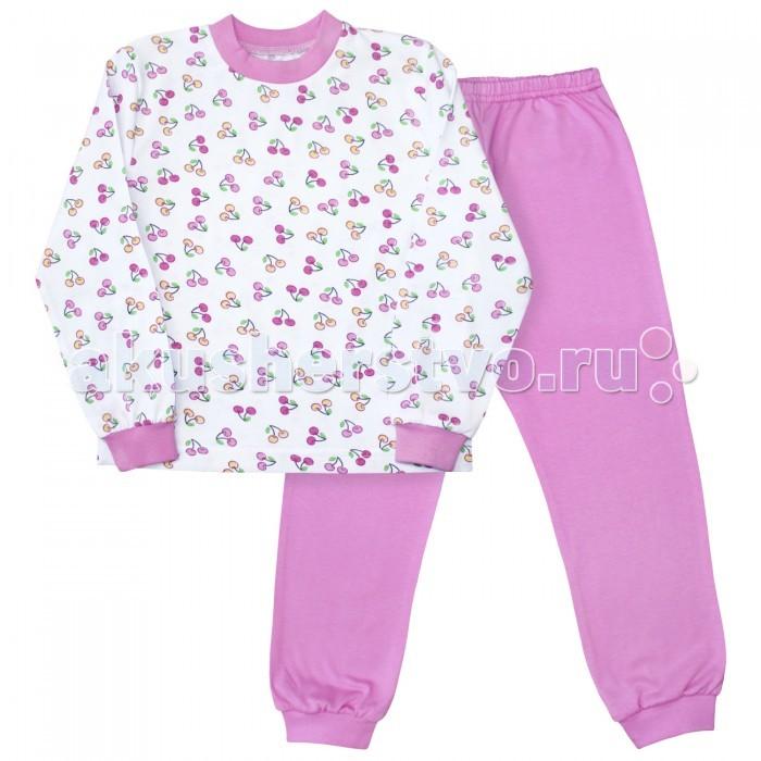 Пижамы и ночные сорочки Веселый малыш Пижама Вишенки 9317 детская одежда