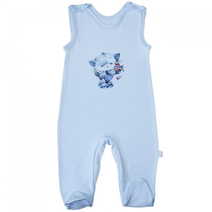 Комбинезоны и полукомбинезоны Веселый малыш Полукомбинезон Котик 35132 детская одежда