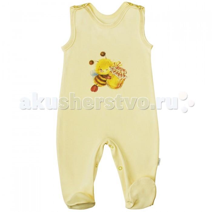 Комбинезоны и полукомбинезоны Веселый малыш Полукомбинезон Пчелка 35132 детская одежда