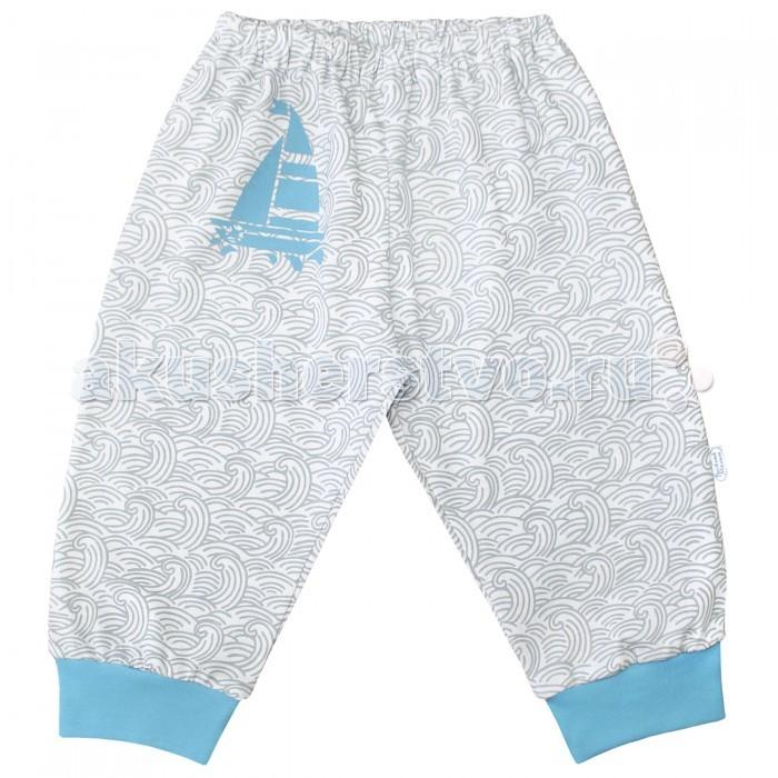Брюки, джинсы и штанишки Веселый малыш Штанишки Парусник 33170