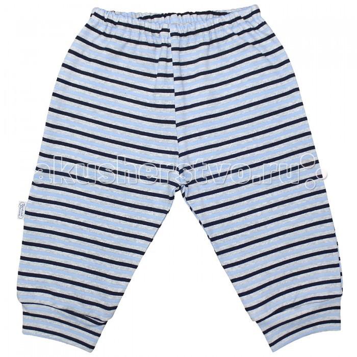 Брюки, джинсы и штанишки Веселый малыш Штанишки Полоска 33150