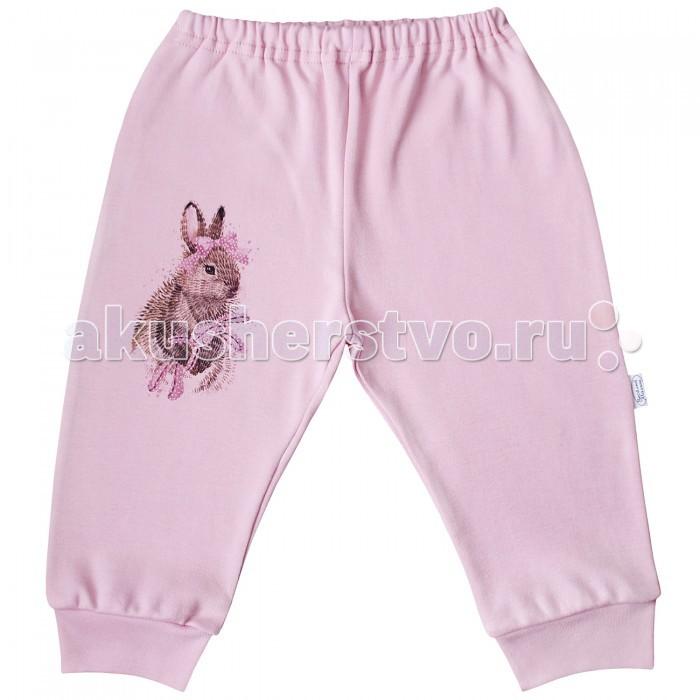 Брюки, джинсы и штанишки Веселый малыш Штанишки Зайчик 33320 брюки котмаркот штанишки звездное небо