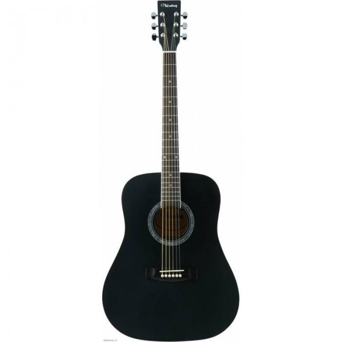 Музыкальный инструмент Veston Гитара акустическая D-45 SP/BKS фото