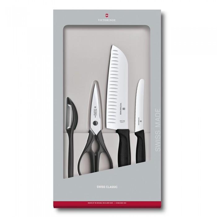 Картинка для Выпечка и приготовление Victorinox Набор кухонный в подарочной упаковке (4 предмета)