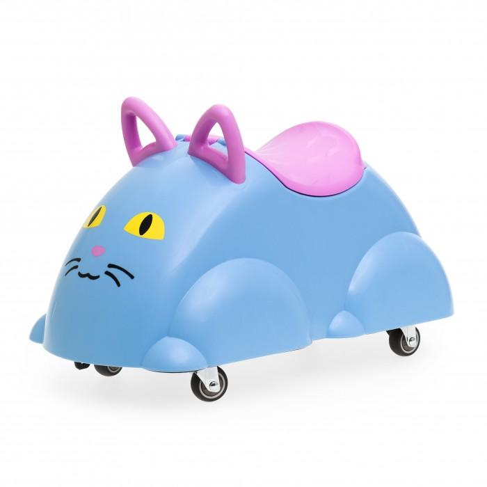 Каталки Viking Toys Cute Rider Кошка с ручками и контейнером для хранения каталки kids rider 1103