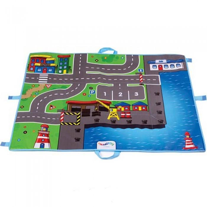Купить Игровые коврики, Игровой коврик Viking Toys Коврик-сумка City 70х90 см