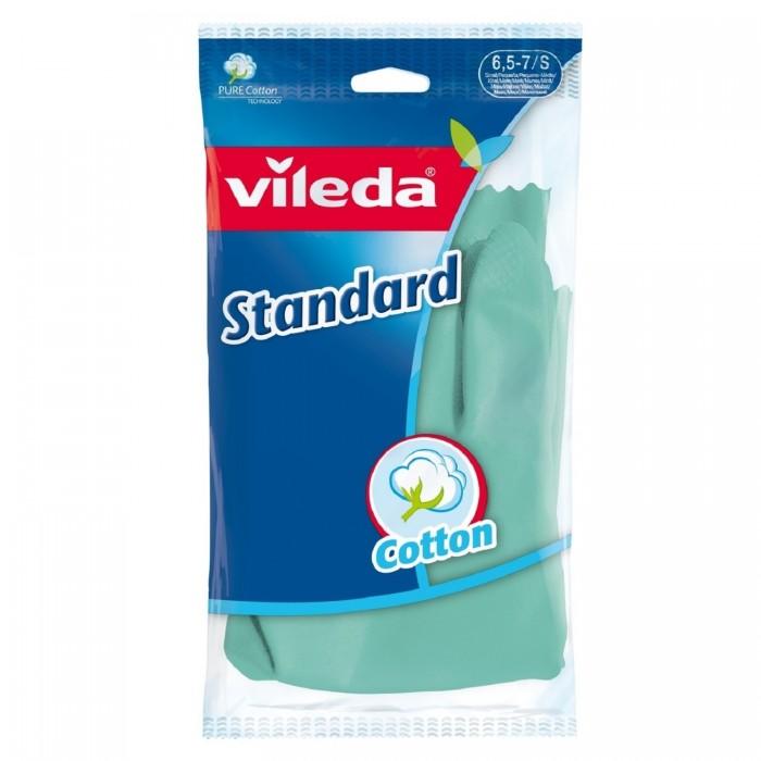 Хозяйственные товары Vileda Перчатки стандарт с напылением
