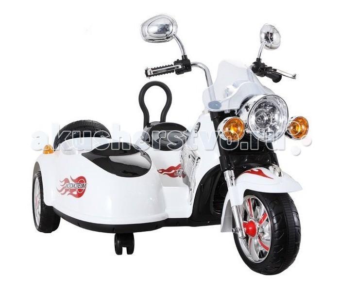 Электромобиль Vip Toys Детский мотоцикл SX 138Детский мотоцикл SX 138Vip Toys Детский мотоцикл SX 138 - это устойчивый и проверенный мотоцикл с лёгким управлением, оснащённый коляской с сиденьем для пассажира, благодаря этому на нём могут ездить двое детей, водительское сиденье снабжено высокой спинкой, коляска оснащена ремнями безопасности. Детский мотоцикл SX138-1 может похвастаться большим разнообразием визуальных и звуковых эффектов, есть подсветка на мотоцикле, коляске, колёсах и запасном колесе, имеется mp3-разъём, есть возможность подключения телефона и прослушивания собственной музыки. Детский мотоцикл на аккумуляторе SX138-1 имеет декоративную запаску, зеркала, покрытые хромом и большую круглую фару, которые придают мотоциклу ещё большую натуральность и стиль, данная модель имеет один мотор и две аккумуляторные батареи.  Особенности данной модели: Конструкция выполнена из экологически чистых гипоаллергенных материалов, которые не навредят детскому здоровью Закаленный полипропилен обладает высокими противоударными свойствами, поэтому транспортное средство сохранит товарный вид в течение длительного времени Пластиковые колеса оснащены центральными резиновыми накладками, что снижает уровень хода и способствует мягкому ходу Специальные ремни безопасности гарантируют максимальную защищенность поездок независимо от особенностей дорожного покрытия<br>