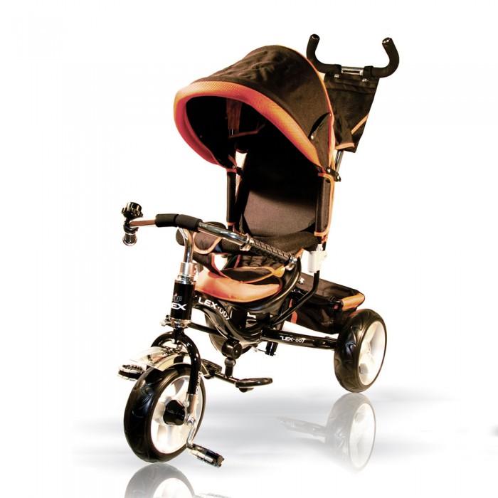Велосипед трехколесный Vip Lex 908-3D908-3DУдобный и высококачественный велосипед с ручкой управления, который доставит удовольствие во время прогулок и малышу, и родителям. Облегченная рама, продуманная до мелочей конструкция.   Характеристики: изготовлен из легких и нетоксичных материалов (металл, пластмасса), которые соответствуют строгим мировым стандартам качества и безопасности для детских товаров рама стальная, облегченная предназначен для детей от 1.5 года до 3-4 лет (до 25 кг), или ростом 80-100 см полиуретановые колеса, переднее колесо с фиксацией, подшипниками. удобное эргономичное сиденье с регулировкой, из черного пластика с мягкой тканевой накладкой и подголовником мягкий бампер безопасности педали – рифлёные, пластиковые съемная удобная подножка для ребенка с ребристыми резиновыми накладками – он ставит на неё ножки и можно ехать с использованием родительской ручки металлическая хромированная поворотная ручка – толкатель. На ручку-толкатель крепится рюкзачок с клапаном на «липучке» и 2 накладными сетчатыми кармашками звонкий хромированный звонок капюшон – трансформер складной, тканевый багажная корзинка тканевая, с жёстким дном и сеточками по бокам, крепится сзади  В комплекте: тент-капюшон багажная корзина рюкзак шестигранный ключ, крепёжные детали (для того что бы собрать, нужен еще гаечный ключ)  Размеры:   в разложенном виде (дхшхв):  86х50х100 см  Вес 9 кг<br>