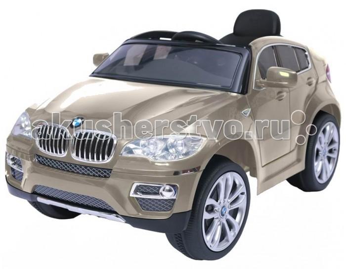 Электромобиль Vip Toys BMW X6 JJ258BMW X6 JJ258Изящный и роскошный, взрослый автотранспорт для маленьких путешественников,  с пультом дистанционного управления. Является копией в миниатюре, легендарного и всеми известного автомобиля BMW.   Реалистичный дизайн проработанный до мелочей: фирменные значки BMW, боковые зеркала, ветровое оргстекло, хромированные диски, руль, хромированная отделка, решетка радиатора, реалистичная приборная панель в салоне, открывающиеся двери. Ребенок почувствует себя настоящим взрослым за рулем модного автомобиля, что без сомнения сделает игру увлекательной и поднимет настроение малышу.      Характеристики: корпус - высококачественный экологически чистый пластик оси, рулевая стойка, тяги - сталь соответствует европейским стандартам безопасности для детей от 3-х лет 1 посадочное место ремень безопасности открывающиеся двери с пластиковыми стёклами реалистичные дизайн звуковые эффекты: сигнал гудка, звук мотора-завод, движение эргономичное сиденье ветровое оргстекло разъём подключения мобильного телефона зеркала заднего вида  заводится с кнопки  спидометр, тахометр, индикатор зарядка батареи с подсветкой широкие, устойчивые колеса с хромированными дисками удобная спинка 2 мотора (2x35W) 2 аккумулятора 6V/7AH скорость от 3 до 5 км/ч электромобиль может работать как от пульта, так и от запасного переключателя радиус действия пульта до 30 метров максимальная нагрузка - 30 кг Mp3: вход, регулятор громкости, встроенные колонки, во время звучания музыки свет мигает в такт мелодий хромированная решетка световые эффекты: панель приборов салона подсвечивается неоновым мерцанием, фары авто зажигаются и выдают дальний мощный луч света  Размеры машинки (дхшхв):    117х73.5х59 см Вес машинки:  18 кг<br>