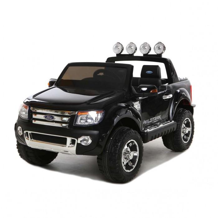 Электромобиль Vip Toys Ford RangeerFord RangeerДвухскоростной джип с пультом радиоуправления для двоих детей. Все так реалистично выполнено: ветровое оргстекло, боковые зеркала, задний выдающийся сполер с мощными прожекторами, готовые освещать путь по жесткому бездорожью, руль, диски, хромированная отделка, решетка радиатора, неоновая подсветка, реалистичная приборная панель в салоне- все повторяет настоящий автомобиль.  Двери открываются как у настоящей машины - нужно только подойти и нажать на ручку двери. Открывается капот впереди машины. Большие размеры автомобиля и два посадочных места позволят Вашему ребенку приглашать в поездку своих друзей. Благодаря встроенному FM- радио с авто-настройкой, MP3, с любимой музыкой Вам не придется скучать в дороге и катание превратится в веселую вечеринку. Электромобилем можно управлять при помощи Bluetooth пульта дистанционного управления на расстоянии до 25 метров.  Покраска кузова защищена слоем лака, что придает блестящий вид или эффект металлика.Ремни безопасности сделают это катание максимально безопасным. Электромобиль оборудован амортизаторами на колесах, что позволить плавно преодолевать любые неровности дорог, можно подниматься по горным дорожкам, ездить по гравию и камням, не бояться ям и кочек.Все очень реалистично в этом автомобиле- хромированные диски, хромированный логотип на капоте, хромированная отделка с тиснением на порогах. Оборудовано кнопкой Низкая скорость/ Высокая скорость, которая используется для изменения скорости движения транспортного средства на  3 км/ч и 7 км/ч.  Этот автомобиль оснащен разъемом для USB, а также слот для вставки SD карту. Обе функции позволяют добавлять свою собственную музыку прямо в машине. Ford Ranger также имеет радиостанцию FM. Регулирование громкости осуществляется с помощью кнопки на приборной панели. Вождение электромобиля обостряет ум ребенка, заставляет анализировать действия, которые требуют внимания, ответственности, собранности и серьезности. Помогают обучиться управ